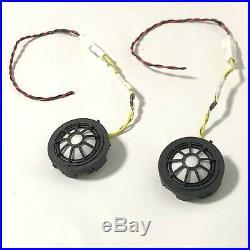 13-16 BMW F10 5-Series M5 535 550 2x B&O Bang and Olufsen Door Tweeters