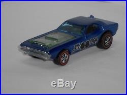 1971 Hot Wheels Redline Bye Focal H. K. Blue withdrk. Int. VERY MINTY