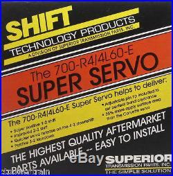 700R4 700 4L60 4L60E New Superior K012 Super Servo Kit Billet 2nd Apply Piston