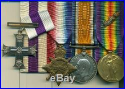 A fine WWI M. C. Group of four awarded to Major C. F. H. K. Douglas