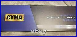Airsoft CYMA Keymod-S Full Metal AEG + 5 Highcap M4 Mags + Airsoft H&K UPS AEP