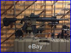 Airsoft Extremely Rare Limited Edition Elite Force VFC M27 IAR H&K With Extras