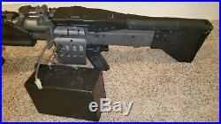 Airsoft H&K M60 MK43 full metal LMG HMG Machine Gun Support Weapon rifle SALE