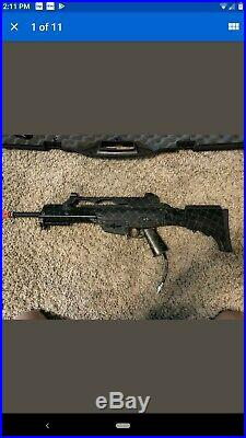 Airsoft HK G36c HPA with m4 convert Airsoft Gun READ DESCRIPTION