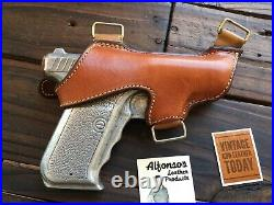 Alfonso's brown Leather Lined Shoulder Holster Component For H&K HK P7 PSP
