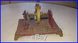 Antique H-K Style B Electric DC Bi Polar Motor Engine Toy