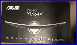 Asus Designo Curved 34 Monitor 4K 219 H&K Audio Hdmi Gaming Wireless Charging
