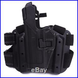 BLACKHAWK! Serpa 430614BK-L Holster Heckler & Koch USP Full Size Tactical Black