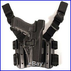 BLACKHAWK! Serpa Level 3 Tactical Black Holster, Size 14, Right Hand H & K