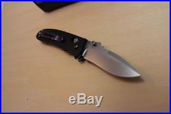 Benchmade H&K 14210 Snody Design G10 154CM Folding Knife Heckler Koch USA Purple