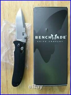 Benchmade H&K 14210 Snody Heckler Koch AXIS Plain G-10 Pocket Knife Made in USA
