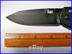 Benchmade H&K 14715BK HK AXS DP BK (Discontinued)