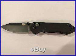 Benchmade H&K 14716BK Black Axis Mini G10 D2 Folding Knife Heckler Koch USA