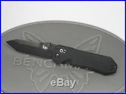 Benchmade H&K 14717BK Tanto Black Axis G10 D2 Folding Knife Heckler Koch USA