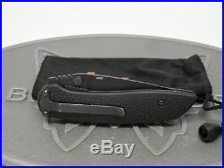 Benchmade H&K 14975BK Scorch D/A N680 Spear Point Folding Knife Heckler Koch USA