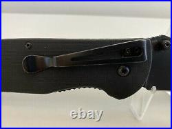 Benchmade H&K Ascender Knife Firs Production 093/500 DISCONTINUED No Box
