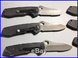 Benchmade H & K FLAK Assisted Open Black G10 Handles Liner Lock