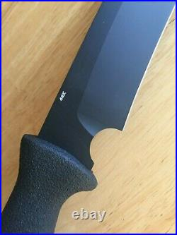 Benchmade Heckler Koch 14120 Feint 440C Fixed Blade Knife & Sheath Made in USA