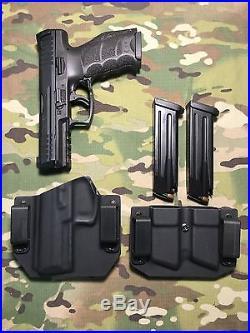 Black Kydex H&K HK VP9 withMag Carrier