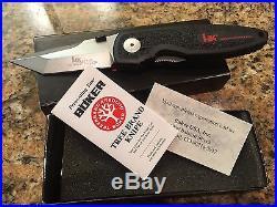 Boker HK Tanto Lock Blade Knife HK22 RARE no longer made Heckler Koch Solinger