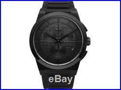 Calvin Klein K2S374D1 Dart Collection Black Dial 45mm Men's Watch Swiss made
