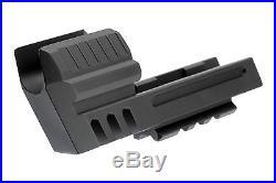 Compensator with Light Rail Fits Heckler & Koch HK45 Match Barrel Weight