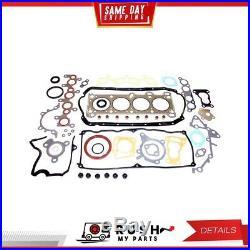 DNJ EK415 Engine Rebuild Kit For 88-93 Ford Festiva 1.3L L4 SOHC 8v VIN H K