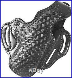 Desantis Thumb Break Scabbard Holster fits H&K HK45, Right Hand, Black Lined Bas