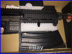 Elite Force HK416C Electric Airsoft Rifle Metal Heckler Koch Great Condition