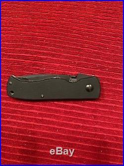 Emerson Model CQC7 HK H&K Heckler & Koch Folding Knife Serrated (Rare)