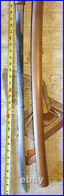 Fine Edo Era Large Japanese Katana, Seki Mino Kaneshige, N. B. T. H. K. Papers