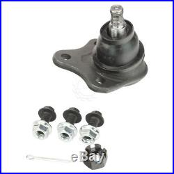 Front Struts Ball Joints Control Arms Tie Rods Kit Set for VW Beetle Golf Jetta