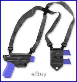 Galco Miami Classic II Shoulder System, Right Hand, Black H&K USP MCII400B