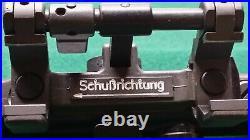 German Heckler & Koch SchuBrichtung Claw Mount & Karl Kaps Asslar/Wetzlar Scope