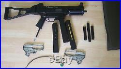 H&K Airsoft UMP 45 with Wolverine smp gen 2