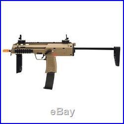 H&K KWA MP7 Full Auto Metal Green Gas Blowback GBB SMG Airsoft Gun Pistol FDE