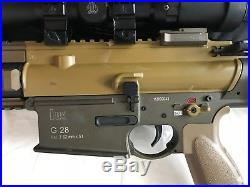 H&K Limited Edition G28 Full Metal AEG (5 Mags, BBs and 11.1 LiPo included)