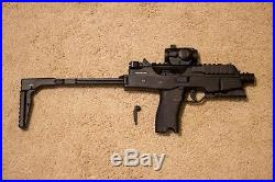 H&K MP9 GBB Rifle withhop-up tool & withadd-ons(2 Magazines/Gun Sling/Hand Grip)