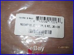 H&K SLB 2000 5 Round 30-06 Magazine Heckler & Koch HK OEM Made in Germany RARE
