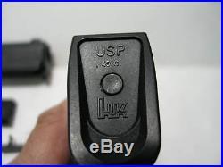 H&K USP Compact. 45 Pistol Parts Kit Slide, Barrel, Magazine, Trigger, Etc