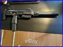 H&K Umarex MP7 Rapid Deployment Hard Kick Airsoft Gas Blowback by KWA