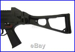 H&K Ump Elite Series Electric Blowback Airsoft Rifle Toy With Grip & Accessories