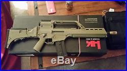 H&k g36kv airsoft rifle, 3 hi-cap mags