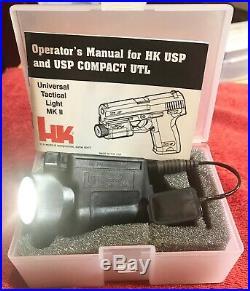 HECKLER & KOCH HK INSIGHT UTL MKII Universal Tactical Light for HK USP