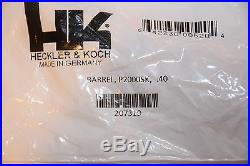 Heckler & Koch Hk P2000sk. 40 Cal Barrel Factory Hk Barrel P2000 Brand New Rare
