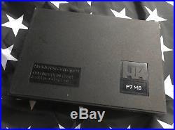 HECKLER & KOCH HK P7 Series P7M8 PISTOL OEM Factory Hard Case Box