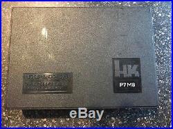 HECKLER & KOCH HK P7M8 OEM Hard Case Box WITH BORE TOOL&BRUSH, MANUAL & WARRANTY