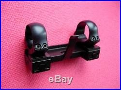 HECKLER & KOCH QR Mounts incl. 25,4mm RINGS for H&K 05/SL7/SL6/940/630 Germany