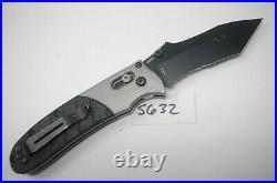 HK 14250S by Benchmade Heckler & Koch Mike Snody Combo-Edge Tanto Pocket Knife