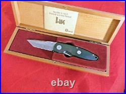 HK DAMAST Heckler & Koch (Boker) HK02DAM Damascus liner lock knife